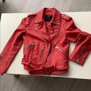All Saints Balfern Biker Leather Jacket